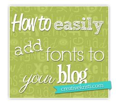 How-to-add-fonts-to-your-blog