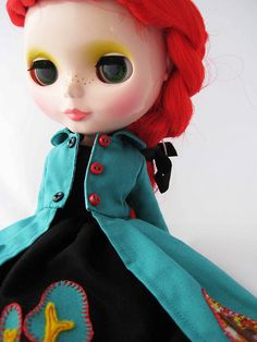 Black Forest Dress and Aqua Trench | Flickr: partage de photos!
