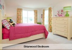 Briarwood bedroom by Lennar