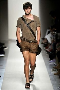 Sweet shirt - short shorts - perhaps an inch longer?
