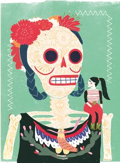 viva mexico by irene rinaldi, via Behance