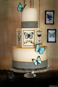 Vintage Butterfly Cake   by Gateaux Inc.