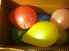 Fun Birthday Gift Idea: Money Filled Balloons « great for nieces and nephews!