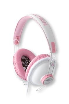 Amazon.com: EarPollution ThrowBax Headphones - Pink (EP-TB-PINK): Cell Phones & Accessories