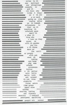 Bill Bissett, via. http://text-mode.tumblr.com/tagged/typewriter# stage 02, fmp stage