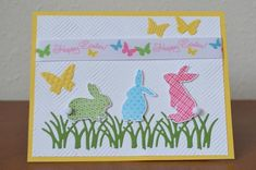 Cute Cottontail Easter Bunnies by WausauSue   Stamps: Ears to You