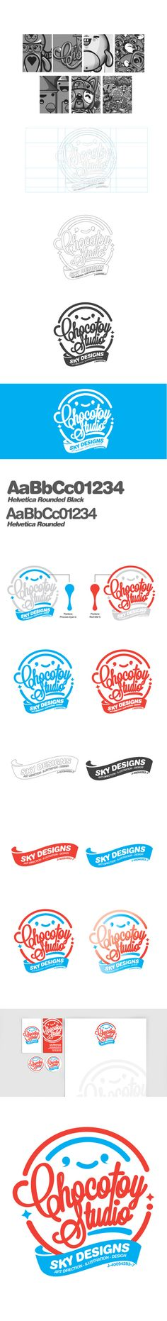 chocotoystudio by ChocoToy , via Behance