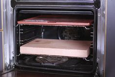 Organising oven at home to bake bread