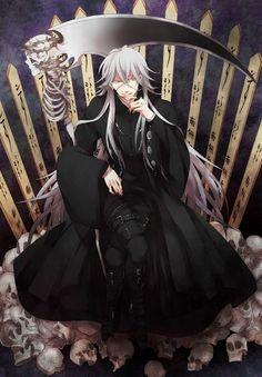 the undertaker, black butlerkuroshitsuji, illustrations, jesus, black butler anime