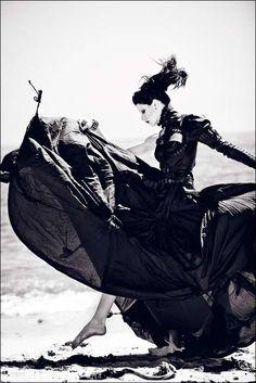 Gothic Glamazon Fashion by Zhang Jinga