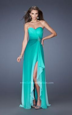 Love the ombre! #Prom2014 now available at Aurora Unique Bridal Boutique ask for style 19790