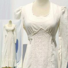 Vintage 70s Hippie Boho Wedding Dress / 70s by MothballHaven, $60.00