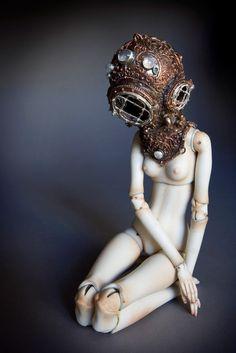 Captain Nemo's Daughter - Enchanted Doll by Marina Bychkova
