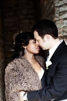 True Love! From Wedding Nouveau #africanamerican #africanamericanwedding #africanamericanbride