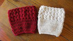 Ravelry: Kathy's Ripple Boot Cuff pattern by Kathy Lashley. Free Pattern