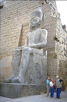 Statue of Ramses II  http://www.memphis.edu/egypt/luxor4.php#
