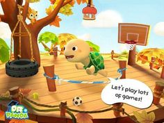 Dr. Panda & Toto's Treehouse - an interactive play app with 4 play scenes with about 5-10 interactive features in each scene. Appysmarts score: 87/100 http://www.appysmarts.com/application/dr-panda-toto-s-treehouse,id_104645.php
