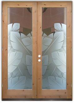 Etched Glass Doors On Pinterest Interior Glass Doors