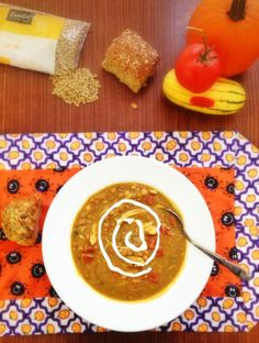 Healthy Dinners: Pumpkin and Lentil Curry Soup. Hearty, healthy ...