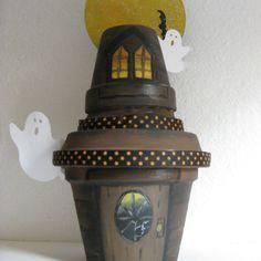 sandylandya@outlook.es  Terra cotta Halloween #terra, #cotta, #pot