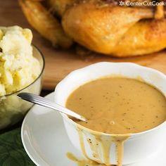 Perfect Turkey Gravy drip, turkey gravi, chicken gravi, holiday recip, dip, turkey gravy, food dinners, perfect turkey, gravi recip
