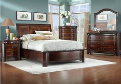 Blaire 5 Pc Queen Bedroom at Rooms To Go.