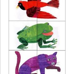 """Brown Bear Printable Activities. It's a little hard to find amongst all the ads, so scroll down to """"Download Brown Bear Printables here."""" Note these are not printable art from Eric Carle, but original activities designed to go along with the story. Still very cute."""
