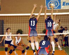 Great volleyball workout ideas for off-season, pre-season and in-season.