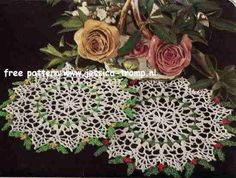 Gift Doily free vintage crochet doilies patterns
