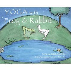 rabbit, frog, kid yoga