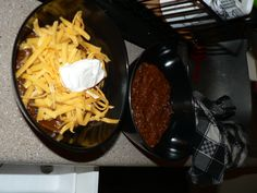 Bison Chili  -- the picture isn't lovely, but the recipe sounds great!
