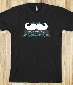 Great Mustache Tee