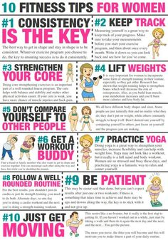 10 Fitness Tips for Women