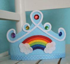 crown  #rainbow  #BIRTHDAYPARTY