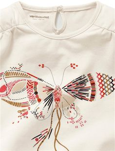 Pack of 2 Girl's Stretch T-Shirts LOT ROSE + BLANC CASSE
