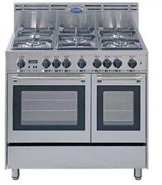 "double oven example; delonghi 36"" gas range"