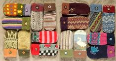 Mittens from recycled sweaters