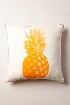 Pineapple Print Pillow