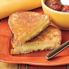 What did you have for Sunday supper last night? We  indulged with our Ultimate Grilled Cheese! | SouthernLiving.com