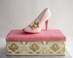 Cakegirls Shoe On A Shoebox How-To Step x Step