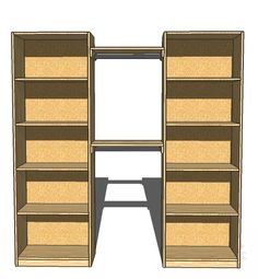 DIY Simple Closet Organizer with Plans
