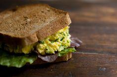 High Protein Recipes...  Egg Salad Sandwich Recipe