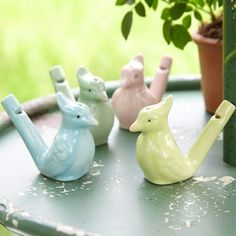 Ceramic Bird Whistle, how cute are these?