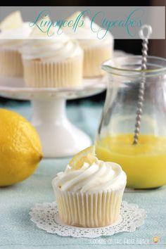 Limoncello Cupcakes - Cooking on the Front Burner #limoncello #lemoncupcake