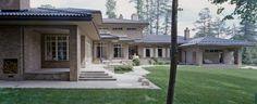 Modern ranch exterior house