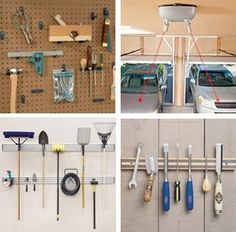 Optomize Your Garage - Visit Rockler.com to find tool storage systems, cabinets, organizers and ingenious, laser-guided parking systems.