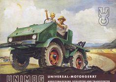 Mercedes-Benz Unimog: Advertising Poster