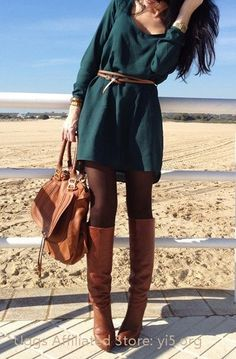 fall fashions, sweater dresses, color, fall outfits, the dress