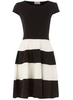Dorothy Perkins  Black skater dress