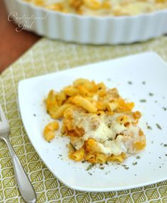 Roasted Butternut Squash Mac and Cheese.